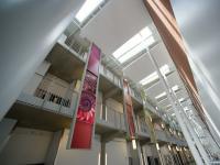 Atrium at Science and Mathematics Complex